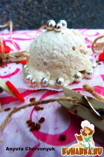 Рецепт Банановое мороженое со специями.