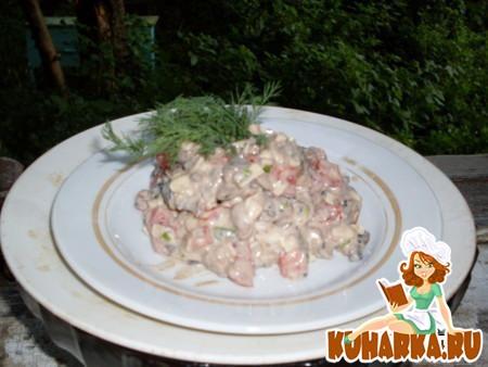 """Рецепт Салат """"Марина"""""""