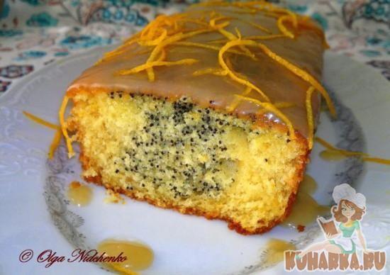 Рецепт Апельсиново-маковый кекс