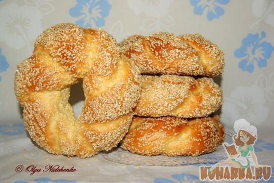 Рецепт Симиты (турецкие бублики)