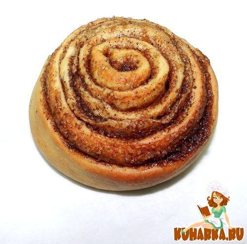 Рецепт Синнабон-булочки с корицей