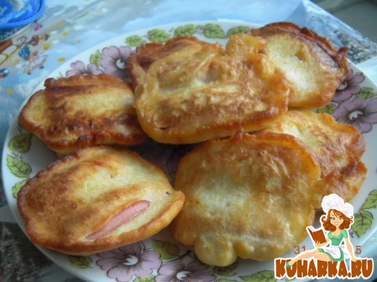 Рецепт Сосиски в кляре