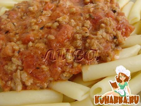Рецепт Соус для спагетти Болоньезе