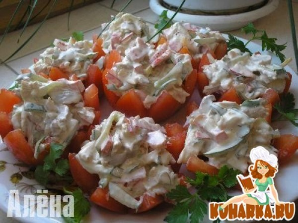 Салат на ужин фото