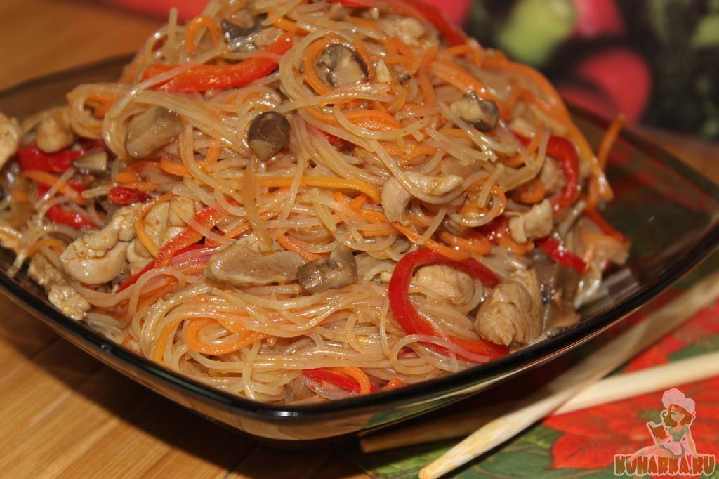 Блюда из фунчозы - рецепты с фото на Повар.ру (39 рецептов ...