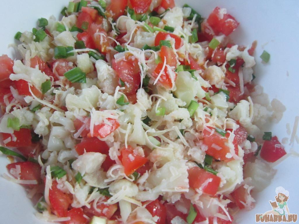 Рецепты салат с цветной капустой просто и вкусно с