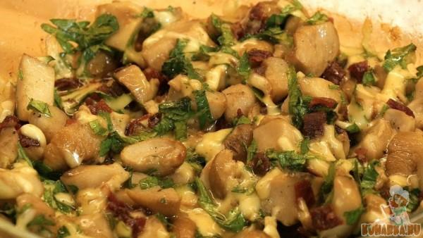 блюда из грибов. рецепты