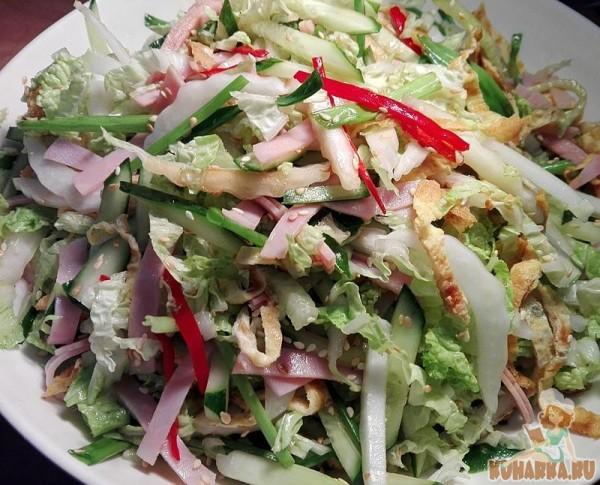 как приготовить японский салат